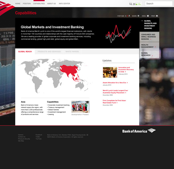 Bank of America Enterprise Site Image 5