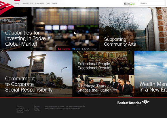 Bank of America Enterprise Site Image 1